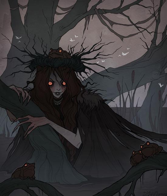 Drawlloween Swamp Thing