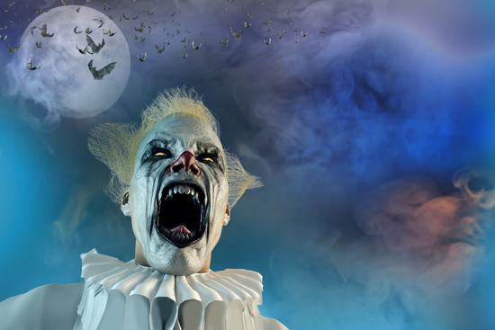 Scary Clown (3D)
